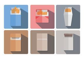Cigarette Pack Vector