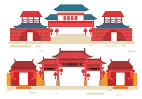 China Town Vector