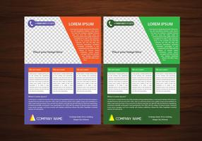 Vector Brochure Flyer design Layout template in A4 size