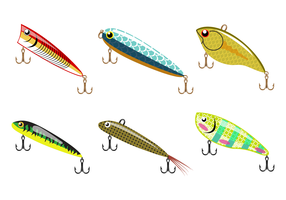 Free Fishing Lure Vector