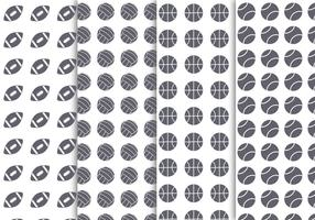 Free Sport Balls Background Vector