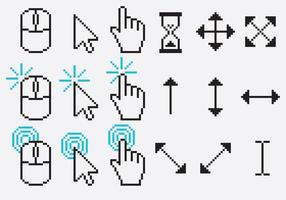 Pixel Cursor Vectors