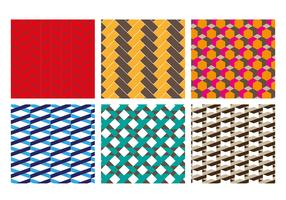 Herringbone Patterns Vector