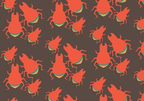 Free Termite Vector Pattern