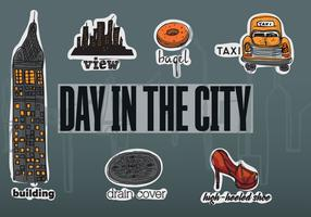 New Free Vector City Elements