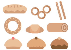 Free Pastries Vector