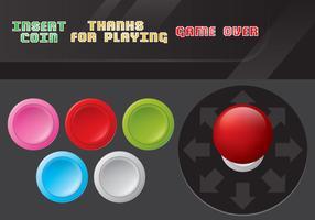 Arcade Game Control Vectors