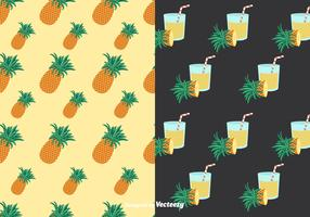 Ananas Patterns Vector