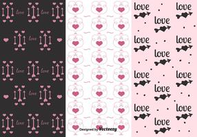 Valentines Day Pattern Vectors