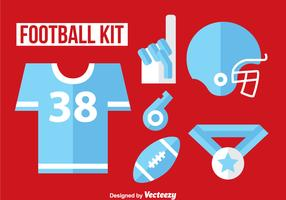Football Kit Flat Icon Vector
