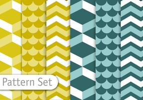 Geometric Decorative Pattern Set
