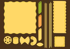 Pasta Type Vectors