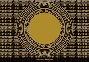 Greek Key Vector Background