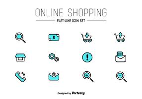 Online Shop UI Vector Icons