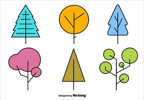 Geometric Minimal Tree Vector Shapes