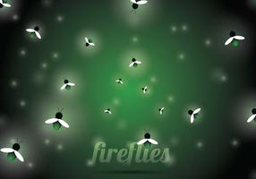 Firefly Vector Background