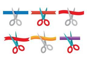 Ribbon Cutting Vector