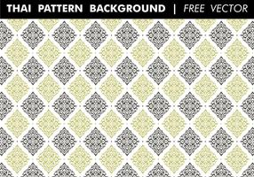 Thai Pattern Background Free Vector