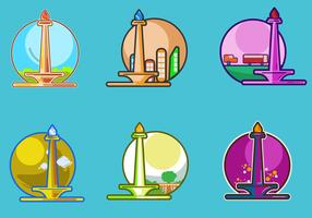 Monas Icons Vector