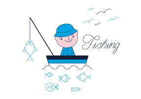 Free Fishing Vector