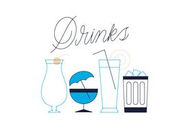 Free Drinks Vector