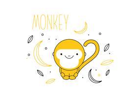 Free Monkey Vector