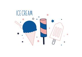 Free Ice Cream Vector