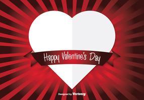Vector Heart Valentine's Background