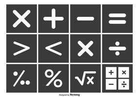 Math Vector Symbol Set