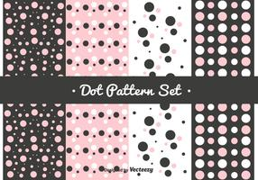 Pink Dot Pattern Set