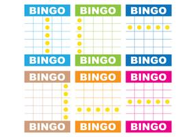 Bingo Card Vectors