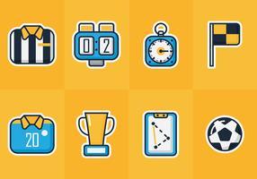 Football Kit Sticker Vectors