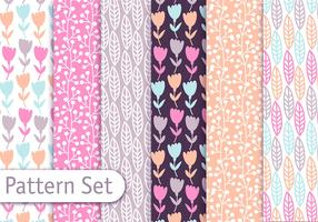 Pstel Decorative Pattern Set