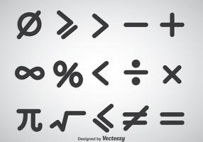 Math Symbols Vector Sets