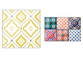 Spanish Talavera Pattern Vectors