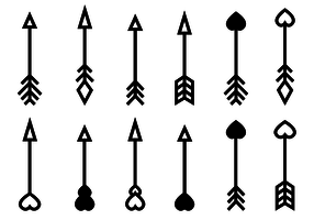 Free Arrow Vector