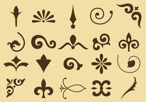 Flourish Vector Icons