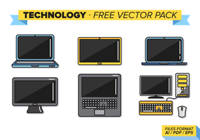 Technology Free Vector Pack
