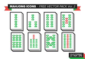 Mahjong Icons Free Vector Pack Vol. 2
