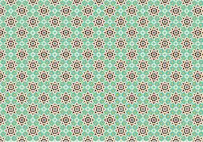 Green Mosaic Pattern Background