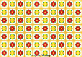 Flower Talavera Seamless Pattern