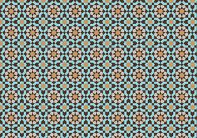 Moroccan Mosaic Pattern Bacground