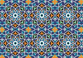 Mosaic Decoration Pattern Background
