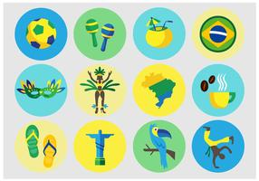 Brazilian Vector Icons