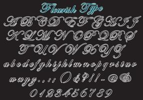 Flourish Type Vector Set