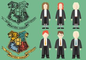 Harry Potter Character Vectors