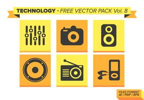 Technology Free Vector Pack Vol. 8