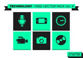 Technology Free Vector Pack Vol. 4