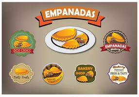 Empanadas vector