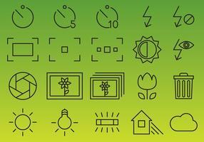 Camera Interface Vector Icons